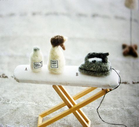 felt wool cute zakka by feltcafe