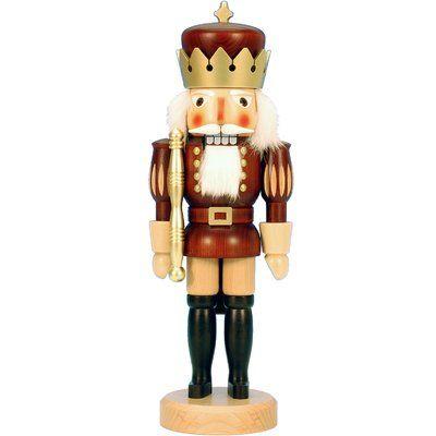 The Holiday Aisle Christian Ulbricht Wood King Nutcracker