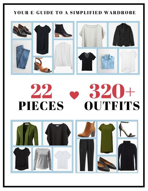Capsule Wardrobe Guide. Find your style. Edit your closet.   Etsy