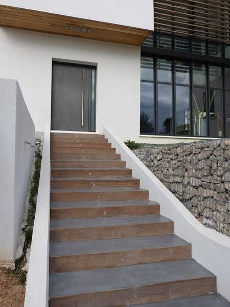 Escalier Beton Avec Images Escalier Exterieur Beton Escalier