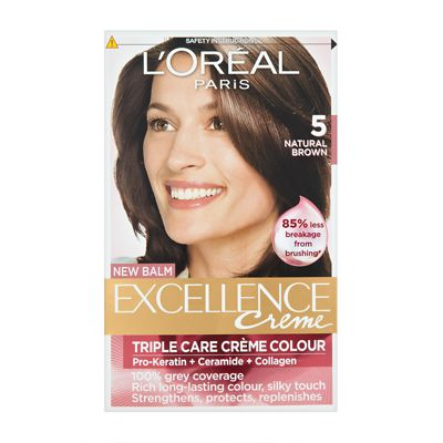 L Oreal Paris Excellence Creme With Pro Keratin Permanent Hair Colour Permanent Hair Color Keratin Loreal