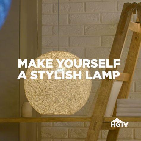 DIY Yarn Globe Lamp,  #DIY #globe #lamp #yarn #trends #trend #women