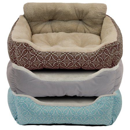 Vibrant Life 21 Inch Lounger Pet Bed Assorted Color May Vary