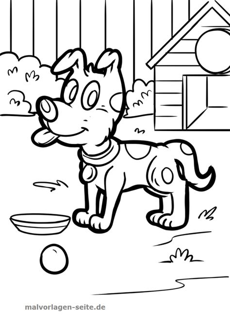 Malvorlage Hund Malvorlagen Malvorlage Hund Und Ausmalbilder