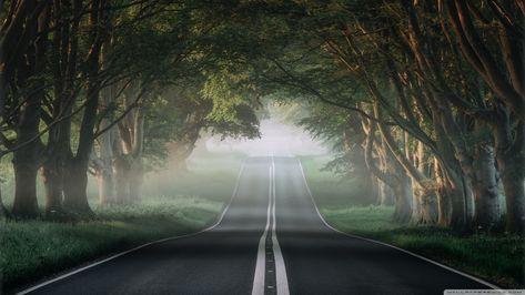 The Most Beautiful Road in The World ? 4K HD Desktop
