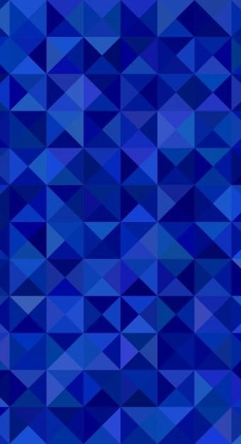 Download Geometrical Abstract Triangle Mosaic Pattern Background Vector Graphic From Triangles In Blue Tones For Free Vector Background Pattern Geometric Graphic Mosaic Patterns