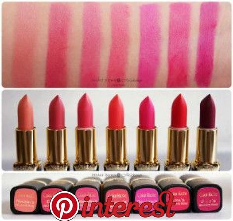 LOreal Color Riche Star Collection Pure Reds Lipstick