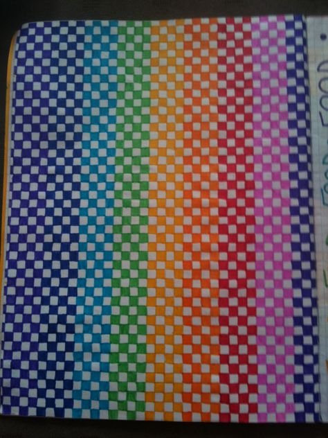 Rainbow squares!