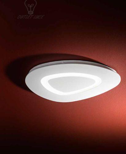 Plafoniera Design Moderno Camera Da Letto.Dettagli Su Lampada Da Soffitto Plafoniera Design Moderno Bianca
