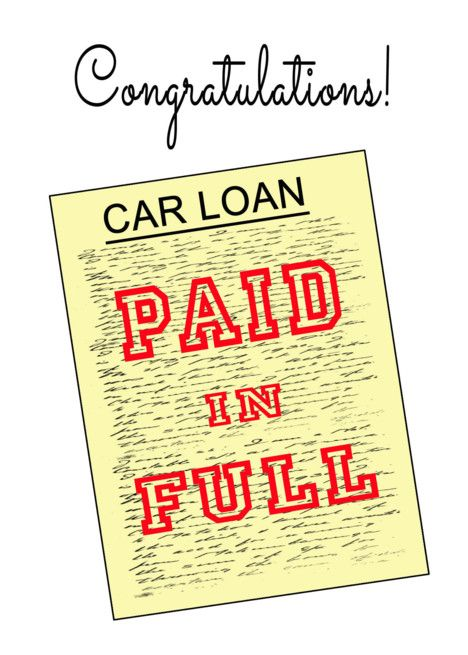 Congratulations Paid Off Car Loan Fake Loan Document Card Ad Sponsored Car Paid Congratulations Loan Paying Off Car Loan Car Loans Loan