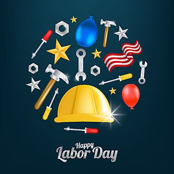 Happy On Labor Day Png Hat Happy Png And Vector With Transparent Background For Free Download Print Design Template Creative Graphic Design Independence Day Greeting Cards