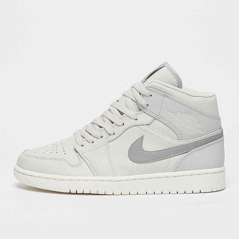 Jordan Air Jordan 1 mid white sneakers bij SNIPES | Sneakers ...