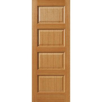J B Kind Oak Classic Mersey 4 Panel Door In 2020 Fire Doors Panel Doors 4 Panel Doors
