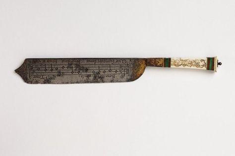 Serving Knife Brass 16th Century Italian Home