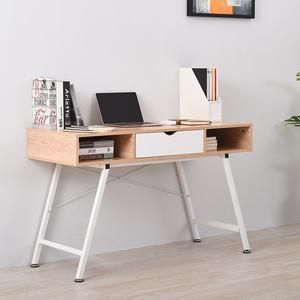 Small Modern Computer Desk W Drawer Grindhaven Office Computer Desk Wood Office Desk Laptop Table