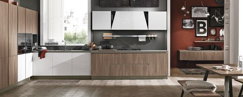 Cucine Moderne Stosa.Cucine Moderne Stosa Modello Cucina Infinity 08 Cocinas