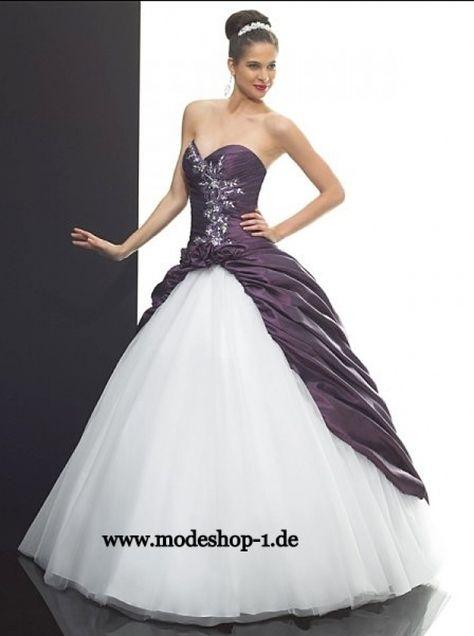 2019 am besten einzigartiges Design guter Verkauf Hochzeitskleid Zweifarbig | Frisuren in 2019 | Kleider ...