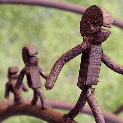 come my tiny metal children...ha ha ha.....