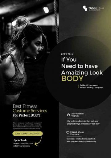 25 Fitness Flyer Template Free Business Template Example In 2021 Fitness Flyer Flyer Template Free Psd Flyer Templates
