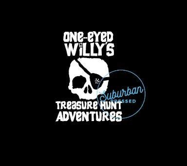 Goonies-inspired Vinyl Decal One-Eyed Willys Treasure Hunt Adventures
