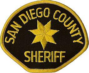 San Diego County Sheriffs Patch