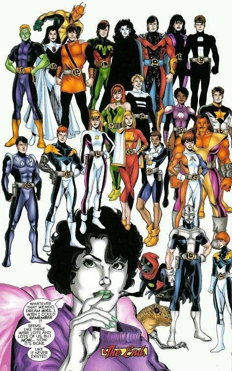Earth 247 not clones, time displaced, universe destroyed
