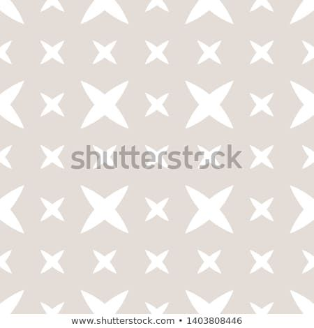 Subtle Minimalist Geometric Seamless Pattern With Small Crosses Abstract Flowers Simple Texture Pattern Wallpaper Seamless Patterns Simple Texture