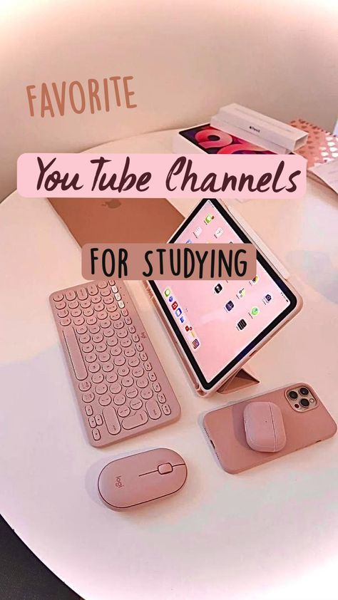 Favorite YouTube Channels for Studying