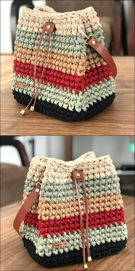 Handbag Pattern Crochet Design Idea