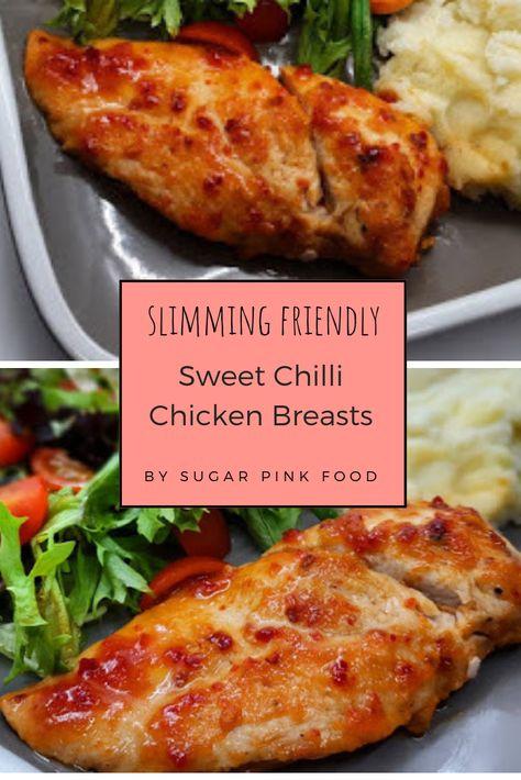 Sweet Chilli Chicken breast, Slimming World Friendly #sw #slimming #chicken #chickenrecipe #healthyrecipe #healthyfood