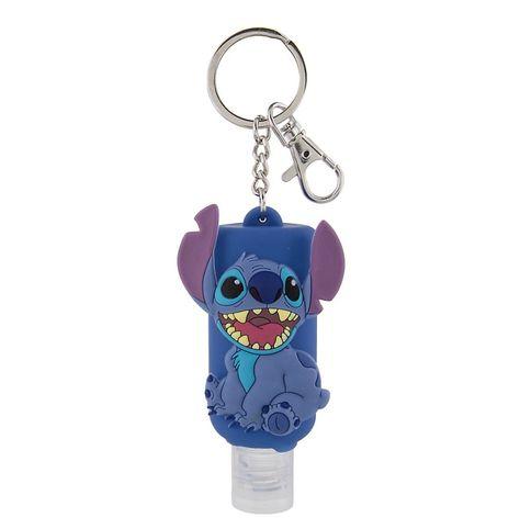 Disney Parks Keychain Keyring Hand Sanitizer Stitch 1oz New With