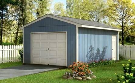 One Car Garage Storage Building 20 Ideas Garagenbau