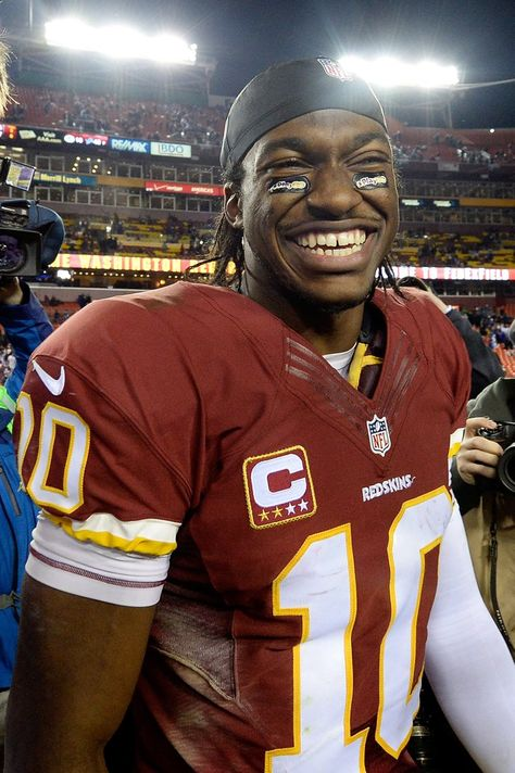 """Pin for Later: 30 Hot NFL Quarterbacks Who Give New Meaning to """"Fantasy Football"""" Robert Griffin III, Washington Redskins"""