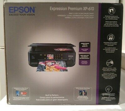 Epson Expression Premium Xp 610 Wireless Color Inkjet Printer Inkjet Epson