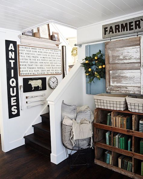 Tri Level Homes Can Be Difficult To Decorate Because They Have Lots Of Small Walls Odd Spaces But I Rea Home Farm House Living Room Home Remodeling