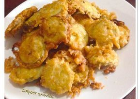 Resep Terong Crispy Oleh Dapoer Sriwidi Resep Terong Makanan Dan Minuman Resep Masakan