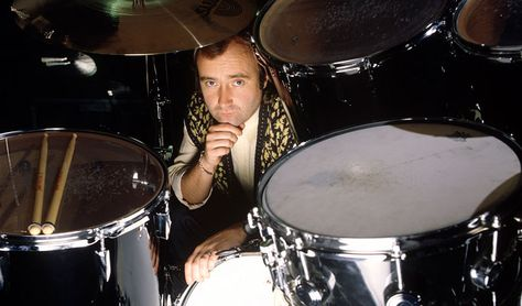 Phil Collins, twice in Philly at the Spectrum, circa 1989 & 1994.