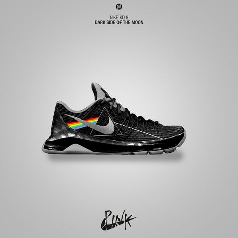 36de2988553 Nike KD 8 Dark Side of the Moon