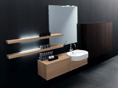 Designer Vanity Units For Bathroom Stunning Vanity Units  Bathroom Furniture  Kubik  Minimal  Milldue Decorating Inspiration