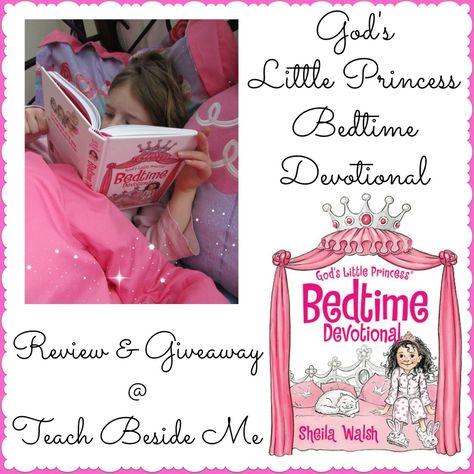 God S Little Princess Bedtime Devotional Book For Kids Devotional Books Family Bible Study Devotions
