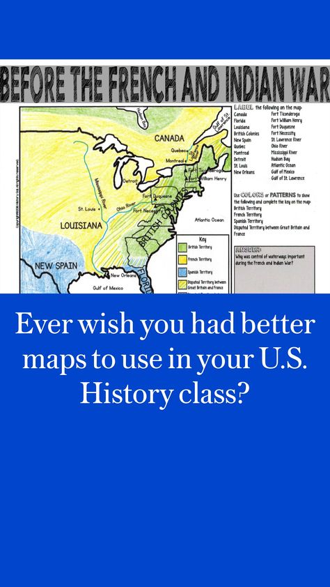 Ever wish you had better maps to use in your U.S. History class?