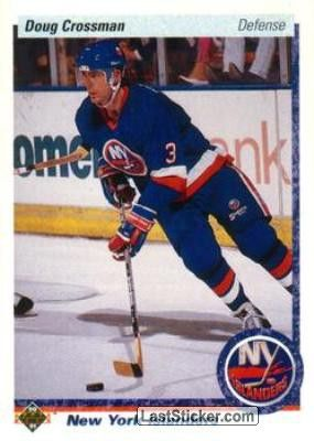 Doug Crossman 1990 91 New York Islanders New York Islanders Montreal Canadiens Hockey Cards