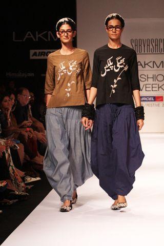 my usual attire in india