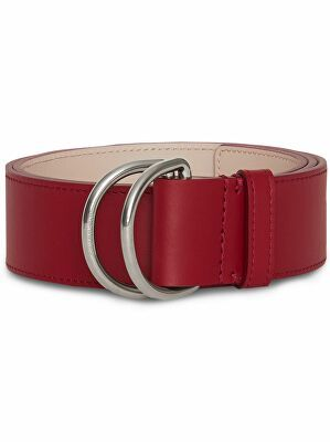 Burberry Leather Double D Ring Belt With Images Belt D Ring