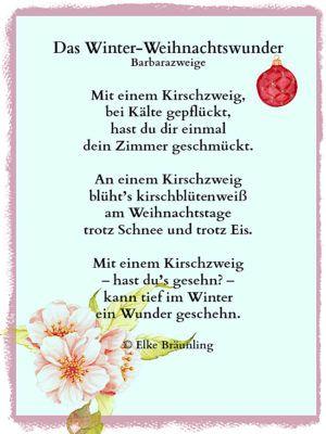 Winter Und Weihnachtsgedichte.Das Winter Weihnachtswunder Weihnachten Weihnachtswunder