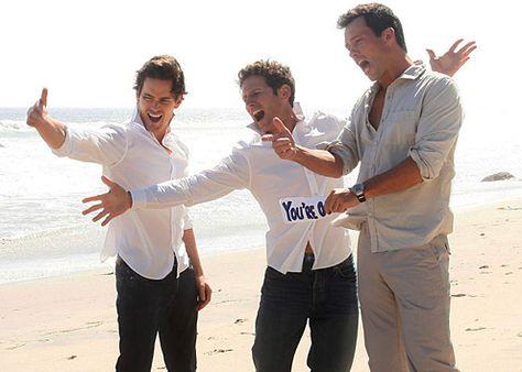 Matt Bomer, Mark Feuerstein & Jeffrey Donovan - Love all of these guys!!!