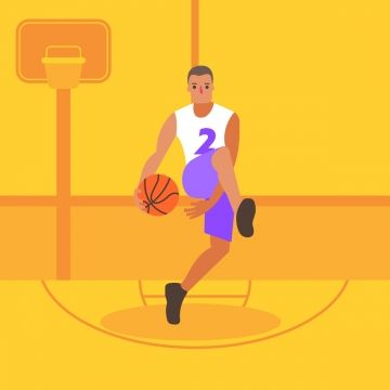 Basketball Players In 2020 Cartoon People Basketball Players Play Run