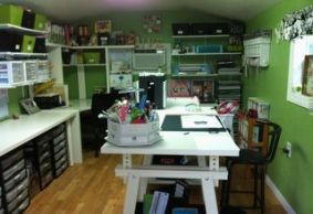 Super Craft Room She Shed Sewing Spaces Ideas Craft Shed Shed Interior Craft Room Office
