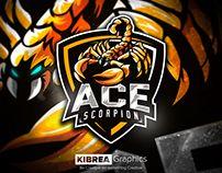 Scorpion Esports Logo Esports Logo Mascot Scorpion