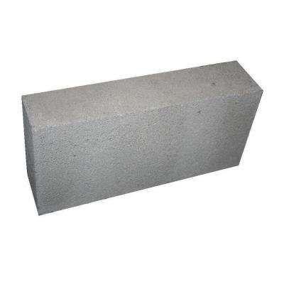1 50 Ea 8 In X 4 In X 16 In Concrete Solid Block Capstone For Cinder Blocks Home Depot Concrete Blocks Concrete Retaining Wall Blocks